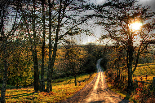 country road | the simple front porch